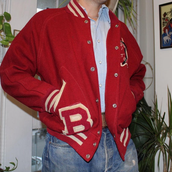 Early 50s Letterman Jacket