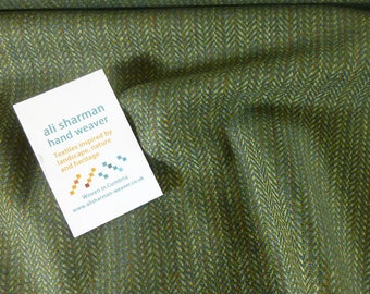 Howgill Cloth - green and blue