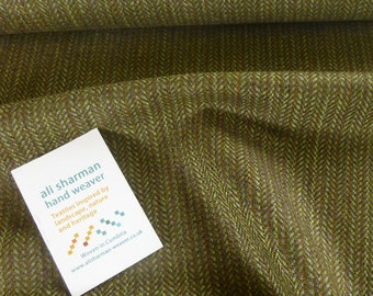 Howgill Cloth - green and purple