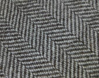 Handwoven Herdwick tweed - soft finish