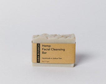 Hemp Facial Cleansing Bar