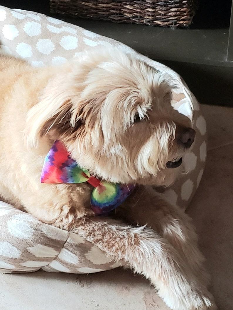 Pet Bows Pet Gift Collar Bows Medium and Large Dog Pet Birthday Plaid Dog Accessories Animal Collar Bows Dog Bows