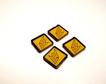 Energy Resource Tokens [4 pcs] for Marvel Champions LCG