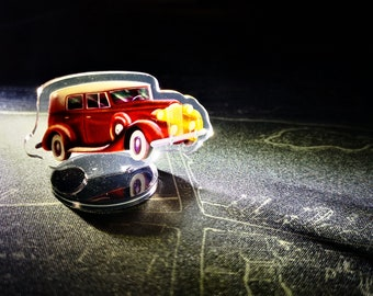 Arkham Horror Cars Standees and Tokens