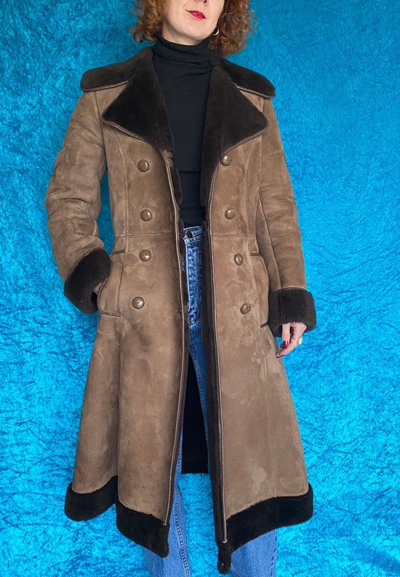Vintage Penny Lane Sheepskin Coat