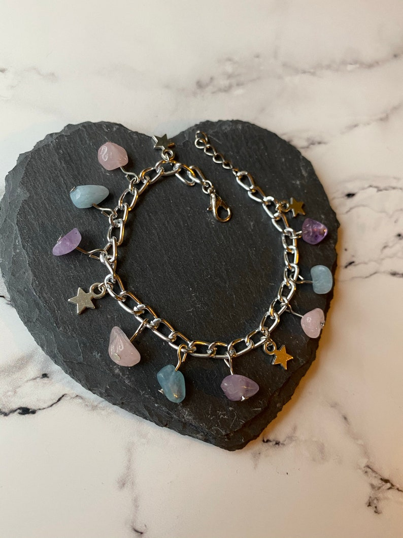 Stars /& Stones Chain Bracelet
