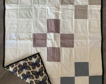 Handmade I Think I Can Baby Quilt