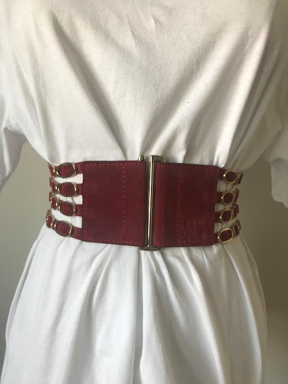 Amazing Miss Sixty elastic belt