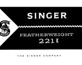 Singer featherweight 221 k sewing machine owner 39 s manual