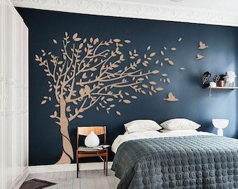 Large Tree Wall Art Etsy