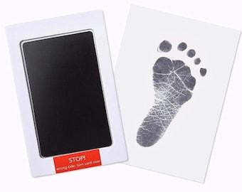 Inkless Baby  fingerprint, Handprint and footprint   New born baby  New baby mum   Baby Shower