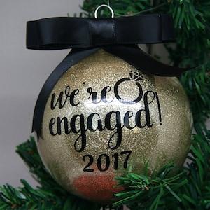 Batman Personalized Glitter Christmas Ornament