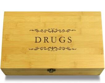Drugs - Multikeep Box Sustainable Chest - Stash Box