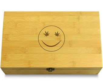 Smiley Face - Multikeep Box Sustainable Chest - Stash Box