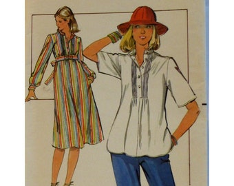 Nami shirt in white pinstripe cotton with side slit long sleeves with cuffs with buttons japanese inspired blouse oversize blouse