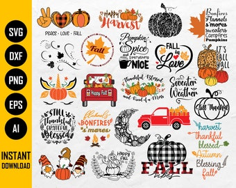 Pumpkin Patch Rustic Fall Cut File Download For Signs Harvest Quotes Bundle PNG jpeg Farmhouse Fall Clipart Autumn Fall SVG Bundle DXF