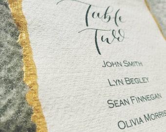 Calligraphy Table Plan | Handwritten Table planning | Wedding Table Plan