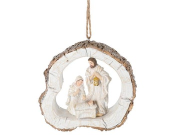 Holy Family Ornament Etsy