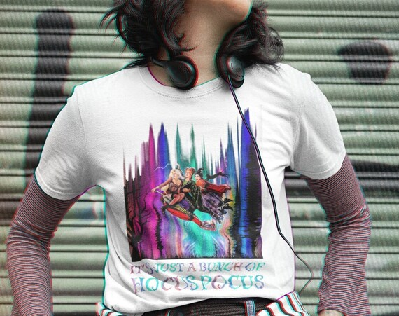 Sanderson Sisters It's Just a Bunch of Hocus Pocus Halloween T-Shirt