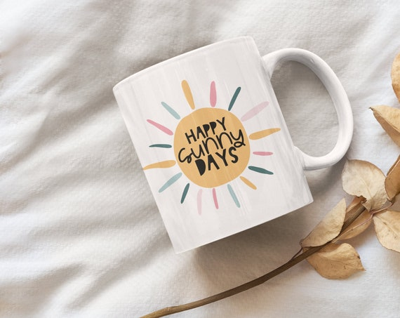 Happy Sunny Days Coffee Mug