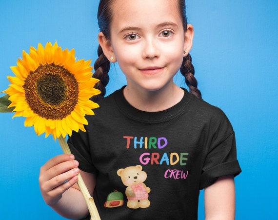 Third Grade Crew Kids T-Shirt