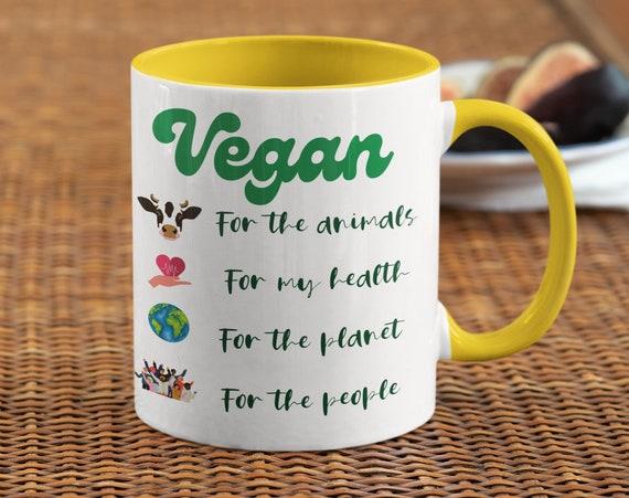 Reasons I Am Vegan Ceramic Mug