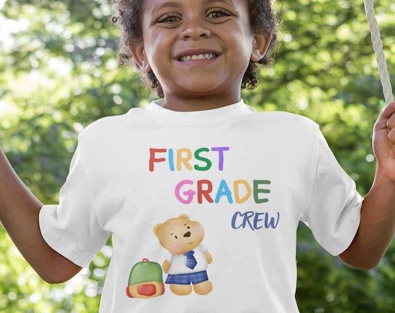 First Grade Crew Kid's T-Shirt