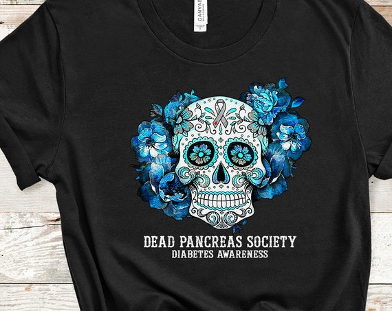 Dead Pancreas Society Diabetes Awareness November T-Shirt