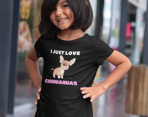 I Just Love Chihuahuas Kids T-Shirt