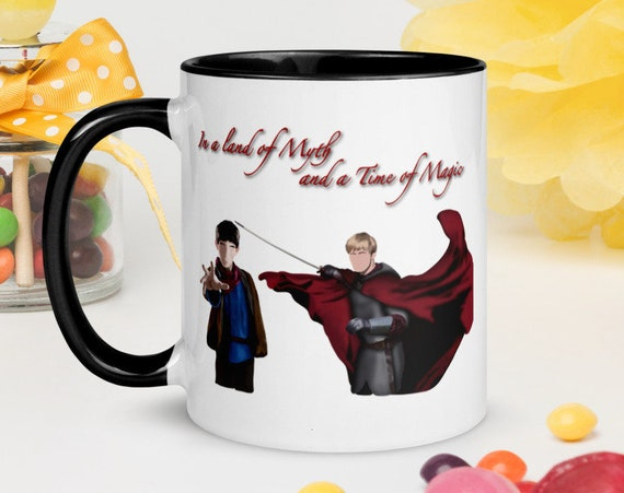 Merlin and Arthur Coffee Mug