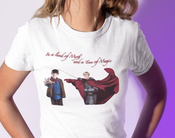 In A Land of Myth and a Time of Magic Merlin T-Shirt