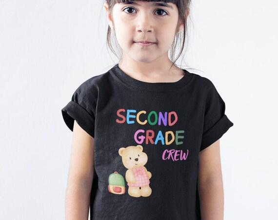 Second Grade Crew Kids T-Shirt