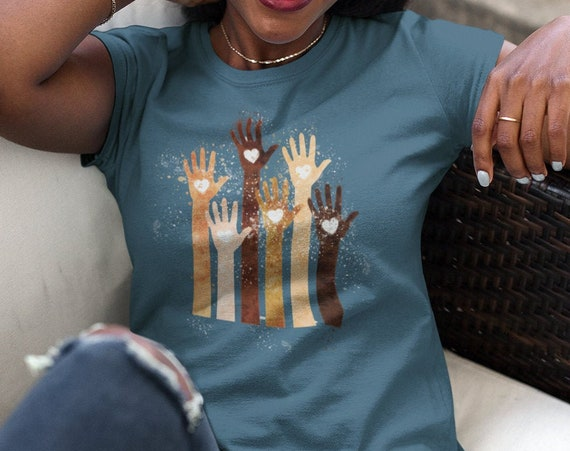 We Are All Equal Hands and Hearts T-Shirt
