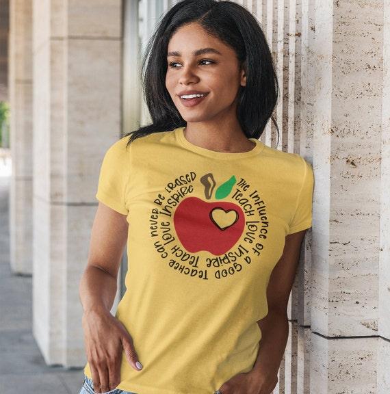 Teacher Teach Inspire T-Shirt