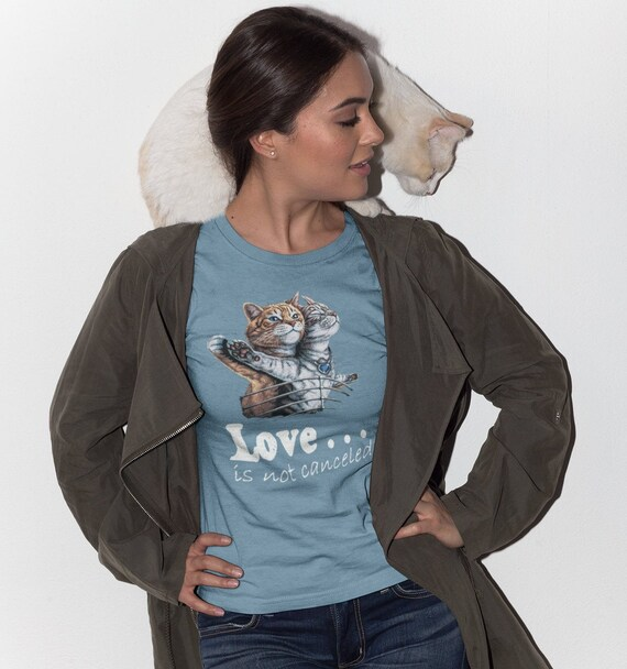 Titanic Cats Love is Not Canceled T-Shirt