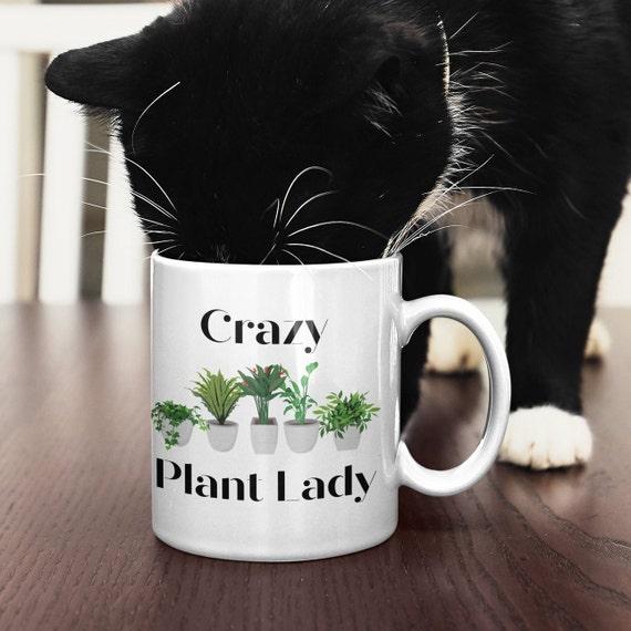 Crazy Plant Lady Coffee Mug