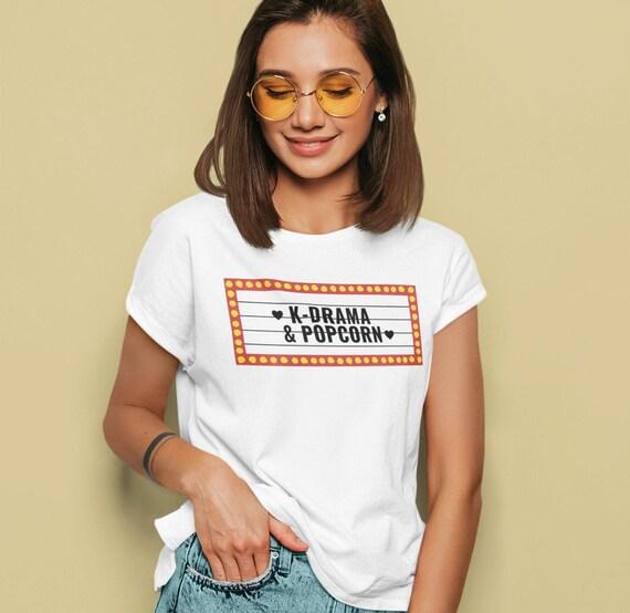 K-drama and Popcorn T-Shirt