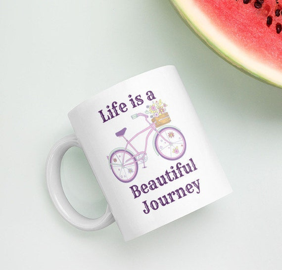 Life is a Beautiful Journey Coffee Mug