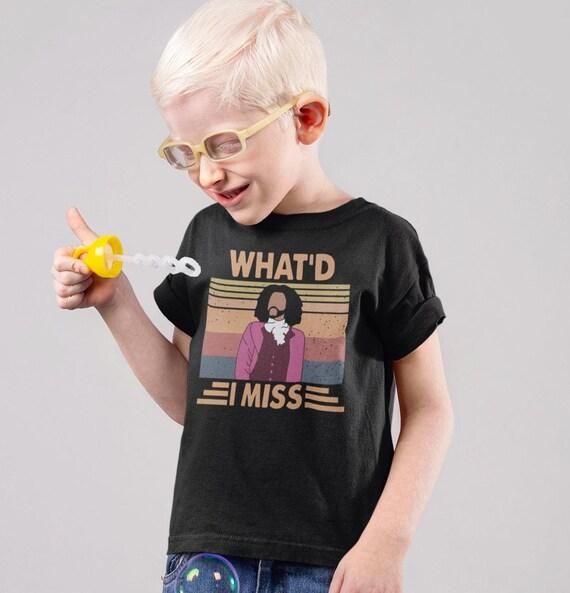 Hamilton Musical Wha'd I Miss Kids T-Shirt