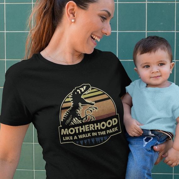 Motherhood Like a Walk in the Park T-Shirt