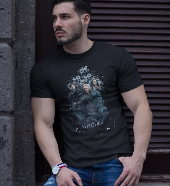 The Witcher Geralt Yennefer and Ciri T-Shirt