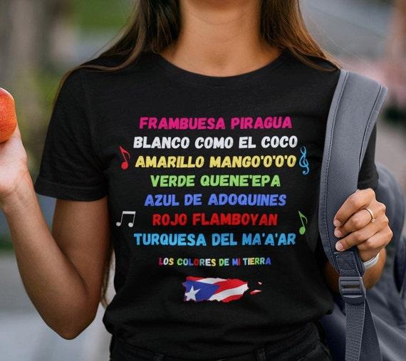 Los Colores de Mi Tierra Puerto Rico T-Shirt