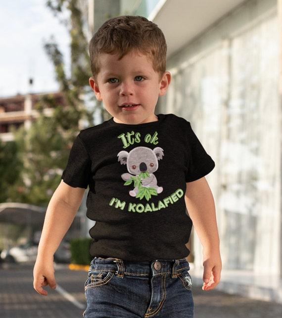 It's Ok I'm Koalafied Kids T-Shirt