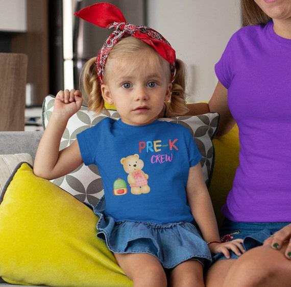 Pre-K Crew Kids T-Shirt