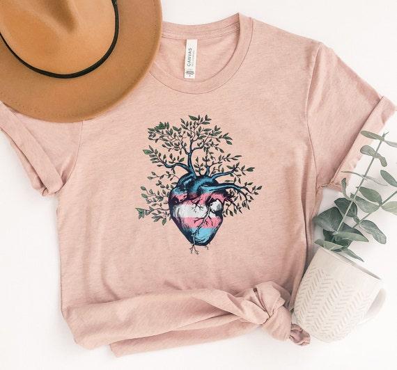 Transgender Heart Tree of Life