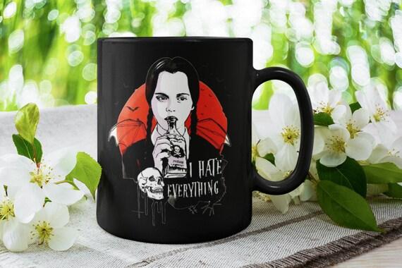 Wednesday Addams I Hate Everything Halloween Collection Mug