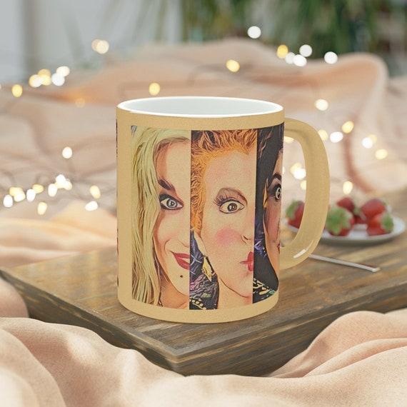 Sanderson Sisters Halloween Hocus Pocus Metallic Coffee Mugs