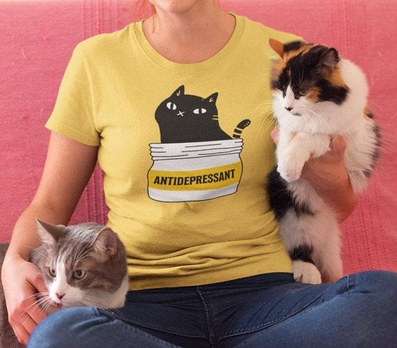 Cat Antidepressant T-Shirt