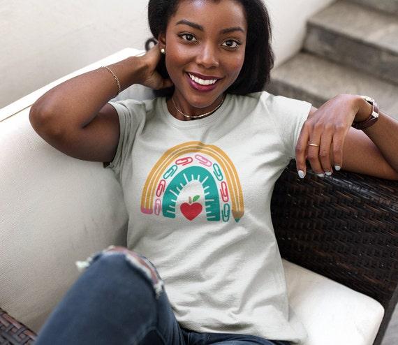 Rainbow Teacher's Life T-Shirt