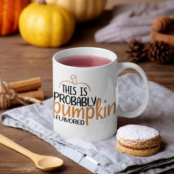 Pumpkin Spice Coffee Mug, Fall Mug